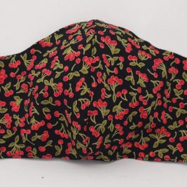 Cherry Print Mask – Adult Size