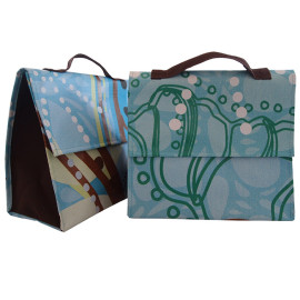 One of a Kind Turquoise Lunch Bags