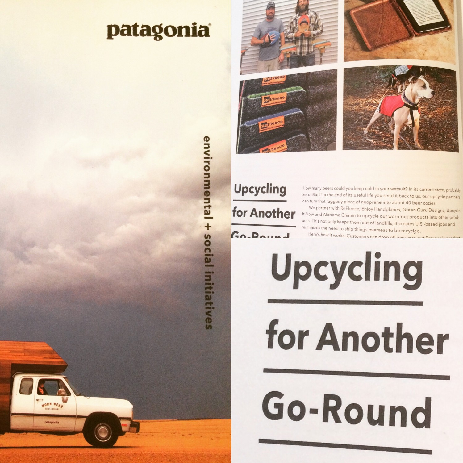 Patagonia Environmental + Social Initiatives 2015